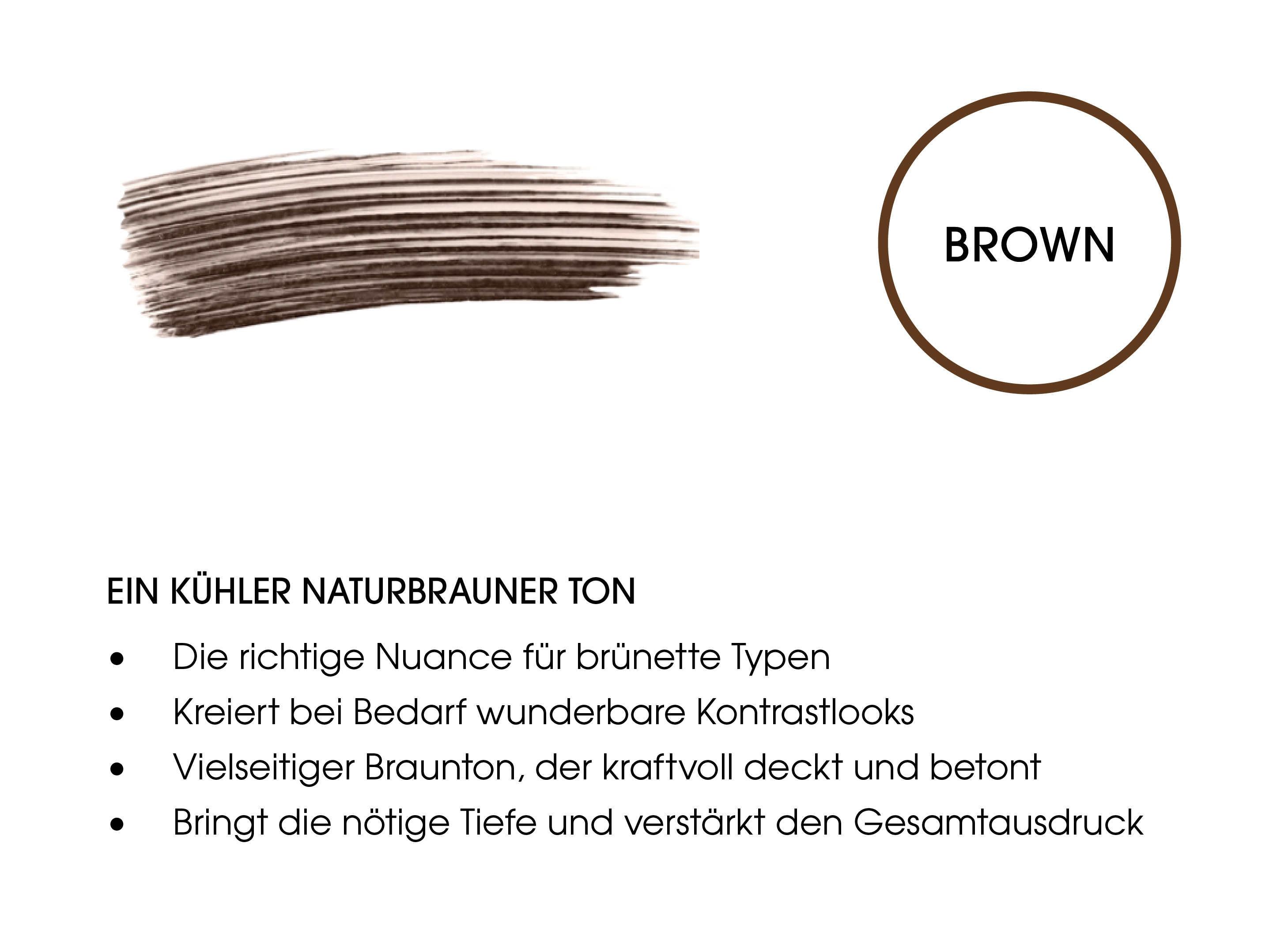 EYEBROW ENHANCER COLOR & CARE BROWN