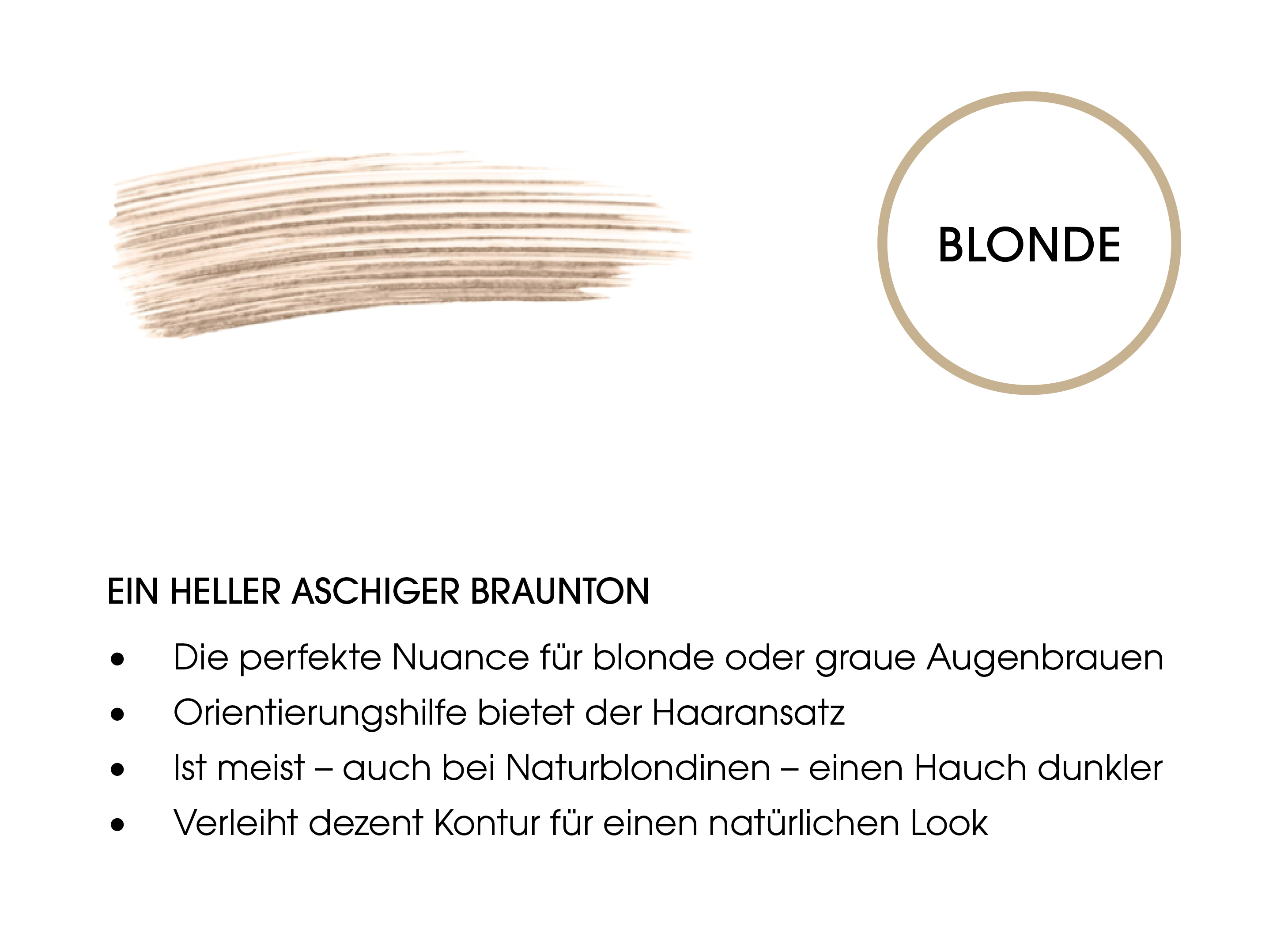 EYEBROW ENHANCER COLOR & CARE BLONDE